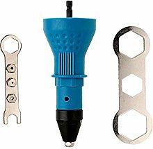 Electric Pull Rivet Gun Adapter Riveting Tool
