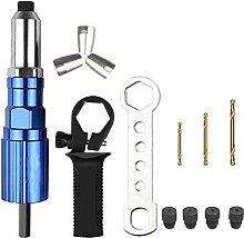 Electric Pull Rivet Gun Tool Nail Gun Rivets Set