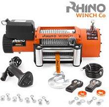 Electric Recovery Winch Heavy Duty 12v, 20,000lb /