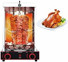 Electric Rotating Vertical Rotisserie Grills