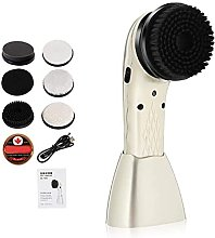 Electric Shoe Shine Care Kit Rechargeable Dust