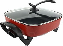 Electric Skillet, Energy-Saving Electric Pan, for
