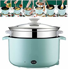 Electric Skillet Multi-Cooker with Steamer