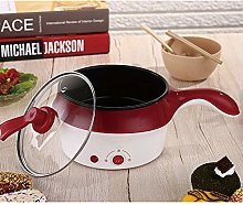 Electric Skillet Non-Stick Multi Cooker with Glass