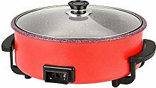 Electric Skillet,Red
