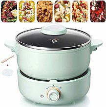 Electric Skillet with Steamer Multi-Cooker
