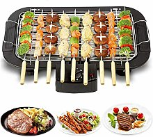 Electric Smokeless Tabletop Indoor 1500W Barbecue