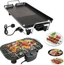 Electric Teppanyaki Grill, 1500W Smokeless Grill