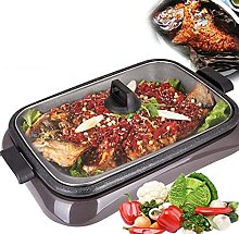 Electric Teppanyaki Grill Table Hot BBQ Plate for