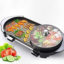 Electric Teppanyaki Large Table Top Grill Griddle