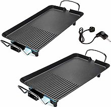 Electric Teppanyaki Table Top Grill Griddle BBQ