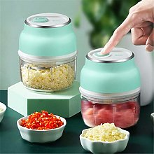 Electric Vegetable Chopper Dicer Slicer Shredder