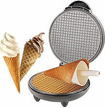 Electric Waffle Cone Maker, Breakfast Egg Roll