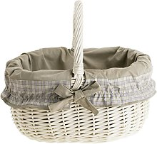 Electric WICKER24 115/W/O5 Shopping Basket,