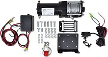 Electric Winch 1360 KG with Plate Roller Fairlead