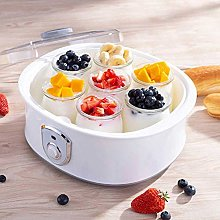 Electric Yogurt Maker with 7 cans (8 Ounce Glass