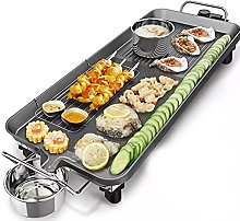 Electrical BBQ Barbecue Grill, Non-Stick Hot Plate