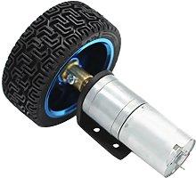 Electrical DC Worm Gear Motor 12-1360 RPM, High