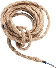Electrical Wire Rope, Vintage Fabric Lighting