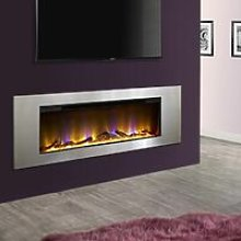 Electriflame VR Flame Inset Wall Mounted Electric