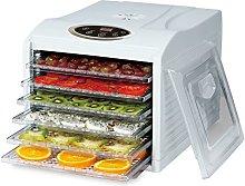 electriQ Digital Food Dehydrator with 6 Shelves,