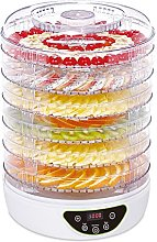 electriQ Food Dehydrator and Dryer with 6