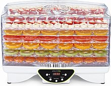 electriQ Maxi Food Dehydrator with 6 Shelves, 48
