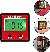 Electronic Angle Gauge Digital Level Box LCD