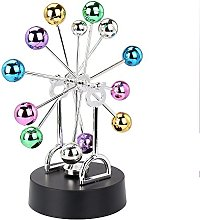 Electronic Perpetual Motion Desk Toy Revolving