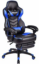 ELECWISH Blue Video Gaming Chair with