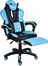 ELECWISH Computer Gaming Chair with Footrest, PC