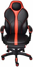 ELECWISH Racing Gaming chair with Footrest High