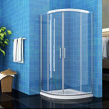 ELEGANT 1000 x 1000 mm Quadrant Shower Cubicle