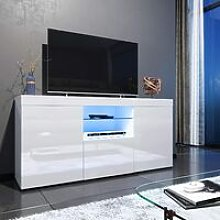 ELEGANT 1350mm Modern High gloss TV Stand Cabinet