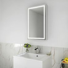 ELEGANT 430 x 690mm Illuminated LED Bathroom