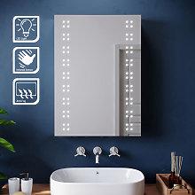 ELEGANT 500x700mm Illuminated LED Mirror Cabinet