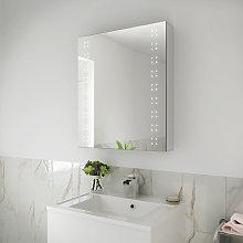 ELEGANT 600x700mm Illuminated LED Bathroom Mirror