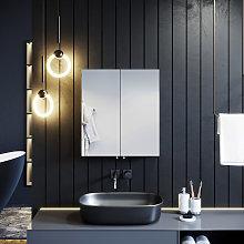 ELEGANT Bathroom Cabinet Double Mirror Wall
