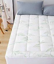 Elegant Comfort Premium Bamboo Mattress Pad -