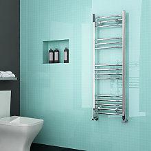 ELEGANT Curved Heated Towel Rail Bathroom Radiator