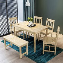 ELEGANT Dining Table and 4 Chairs Kitchen/Living