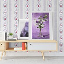 Elegant Flower Vine Wallpaper Mural DIY