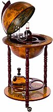 Elegant Globe Drinks Cabinet 36001 with Solid