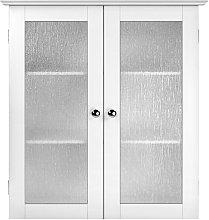 Elegant Home Fashions Bathroom Connor Wall Cabinet