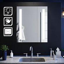 Elegant - Illuminated Bathroom Mirror Cabinet with