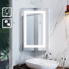 ELEGANT Illuminated Bathroom Mirror Cabinet with