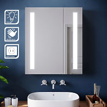 ELEGANT Illuminated LED Bathroom Mirror Cabinet