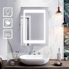 ELEGANT Illuminated LED Bathroom Mirror Cabinet