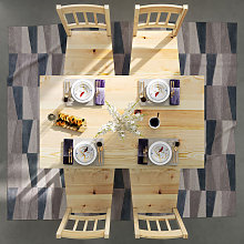 ELEGANT Kitchen Furniture Wooden Dinning Table and