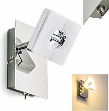 Elegant LED Wall Light – 6 Watt Aluminium Wall